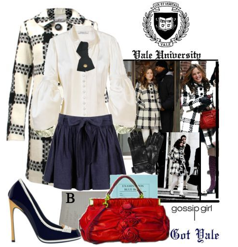 Preppy Chic Style inspired by Blair Waldorf from Gossip Girl